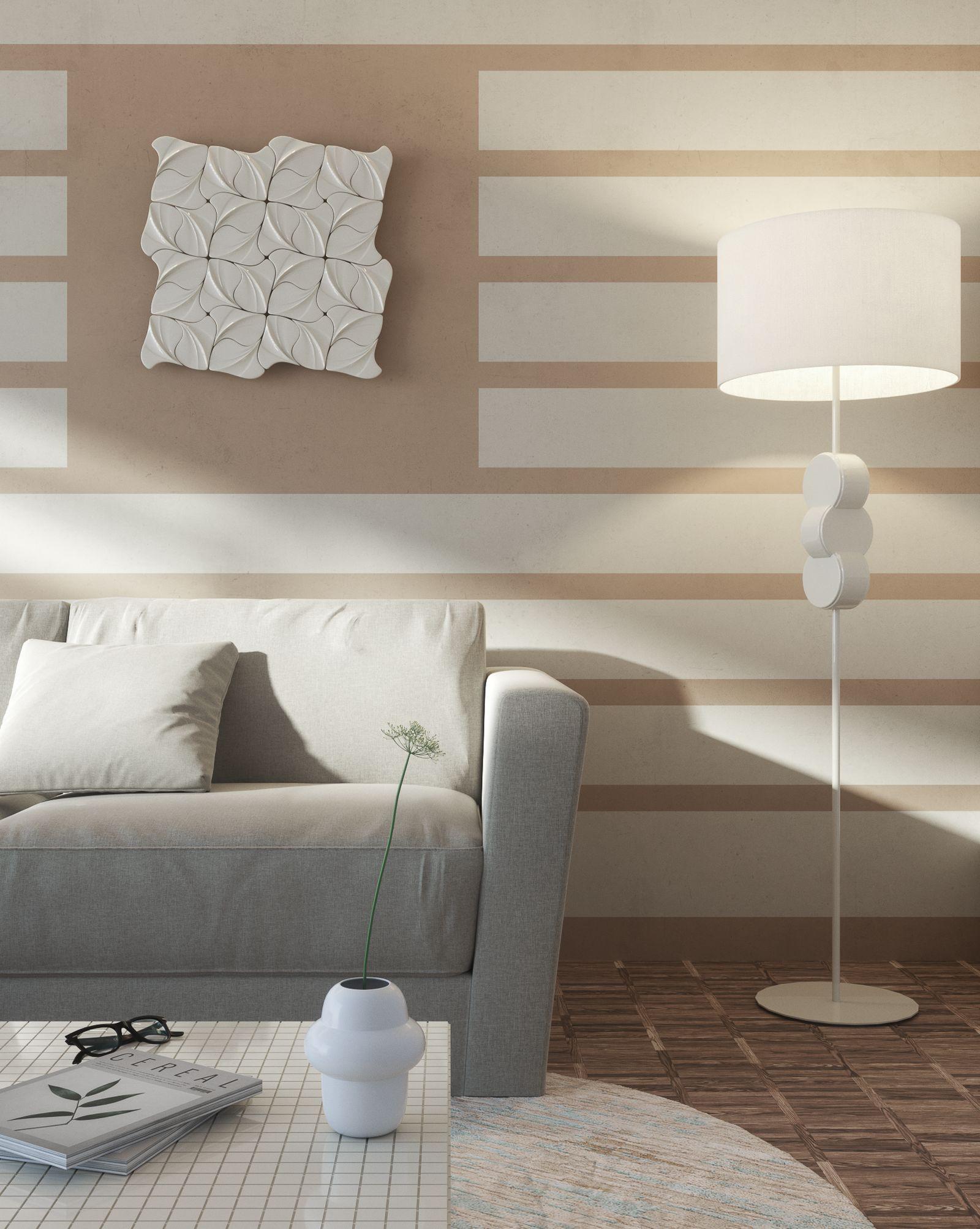 Dettaglio del living room della Exclusive Suite di Lefay Resort & SPA Lago di Garda